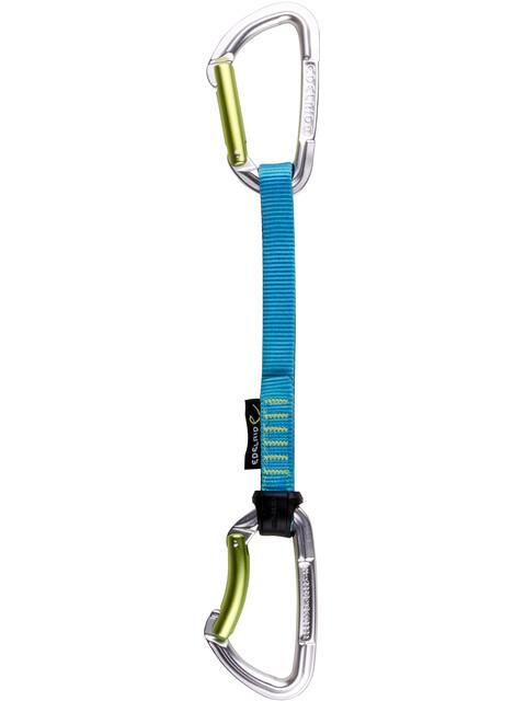 Edelrid Slash Quickdraw Set 18cm night-icemint